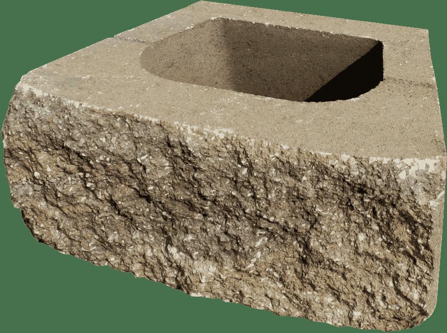 Brutus™ wall block