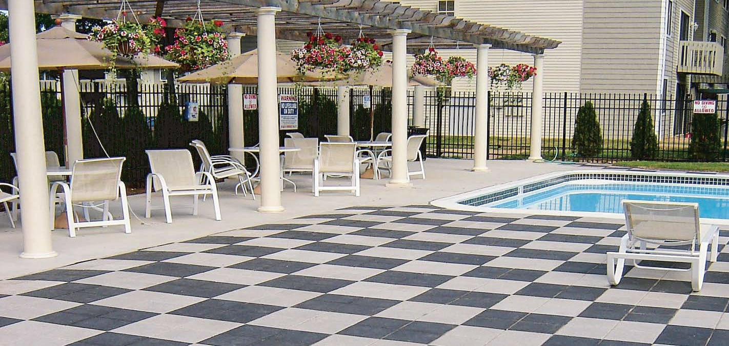 Plaza Stone pavers