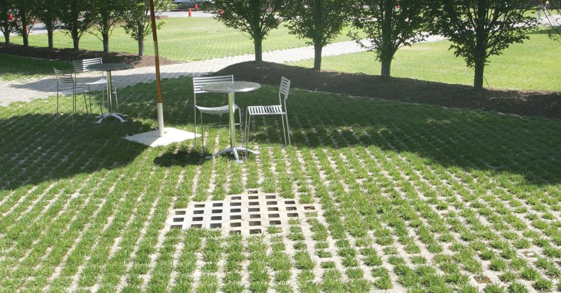 Turfstone Is The Ideal Permeable Paver For Overflow