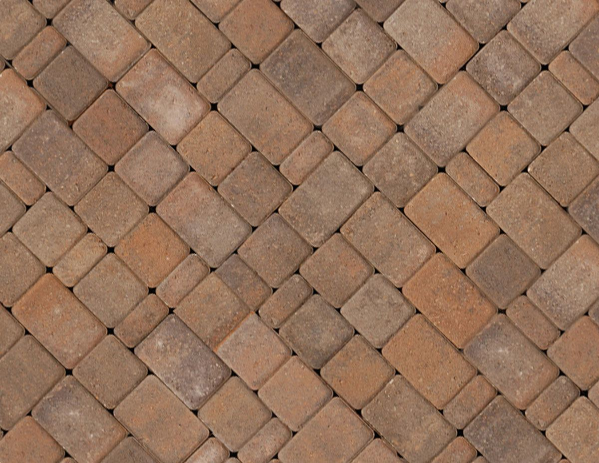 3 Piece Cobble Stone Pavers Easily Recreate A Timeless