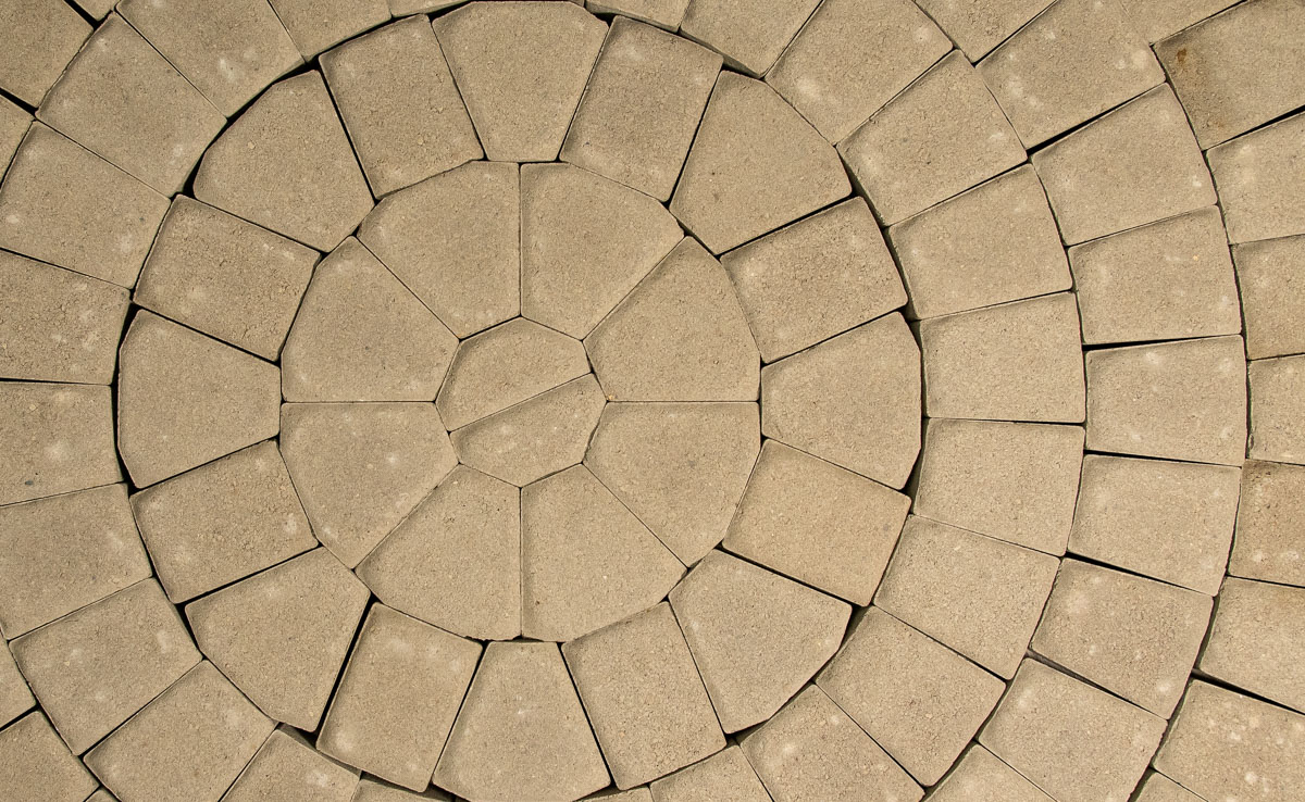 Circle Kit Specialty Paver Romanstone Hardscapes