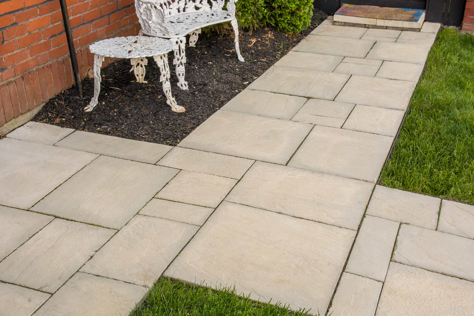 Dimensional Flagstone By Rosetta Installs Easily And Looks