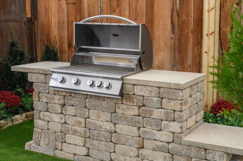Willard Grill Surround kamado pad open grill