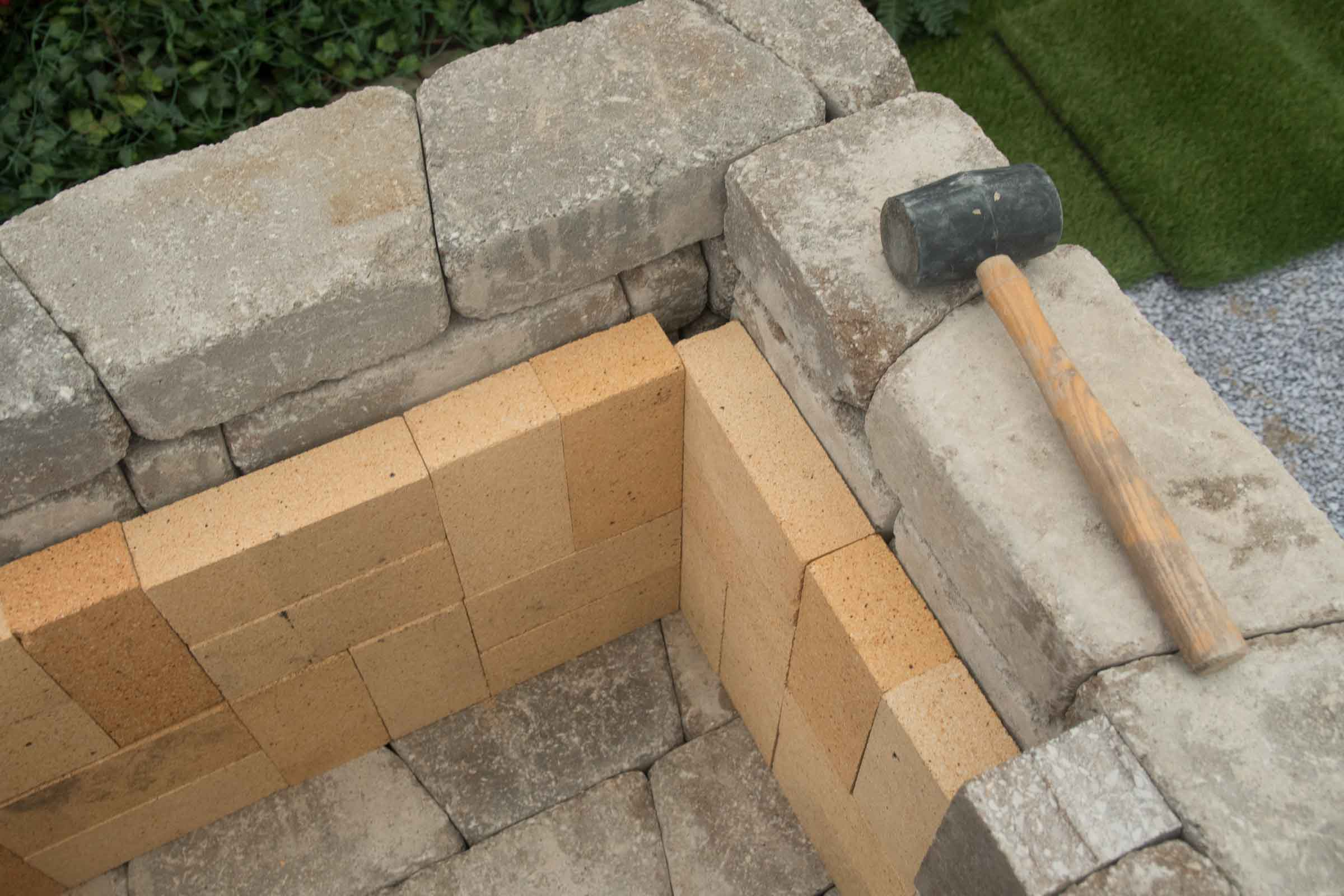 "DIY Outdoor Fireplace Kit ""Fremont"" makes hardscaping ... on Diy Outdoor Fire id=56913"