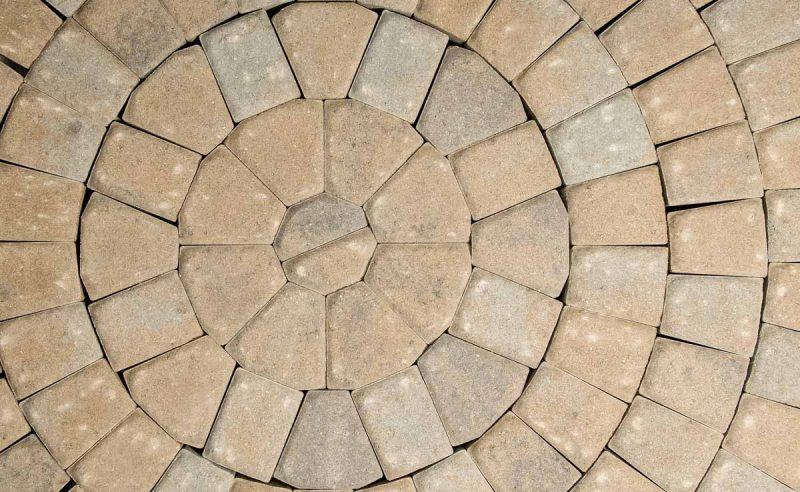 Looking To Pave A Circle Our Circle Paver Kit Just