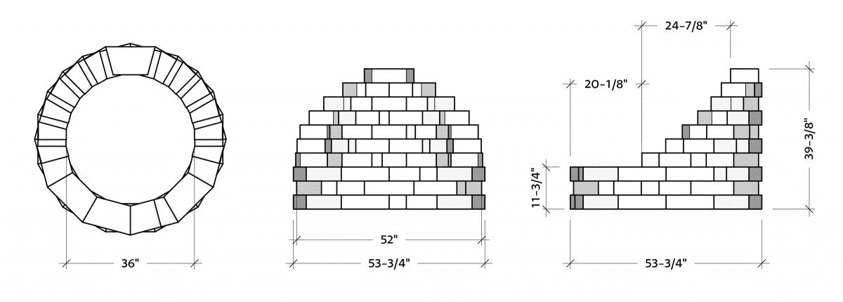 Latessa-FirePit-dimensions