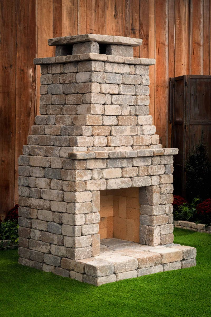 Fremont 2 fireplace standard kit