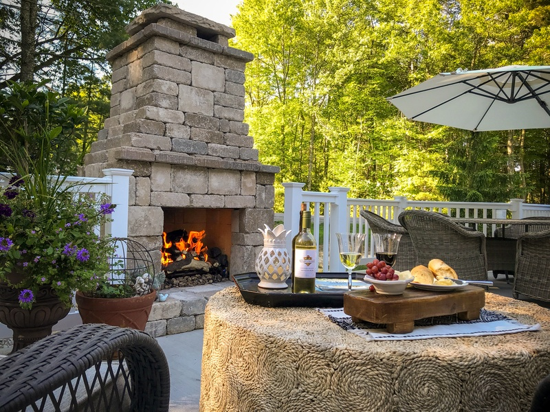 Romanstone fireplace kit adds luxury you can afford