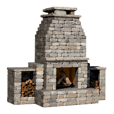 Diy Outdoor Fireplace Kit Fremont Makes Hardscaping Cheap And Easy