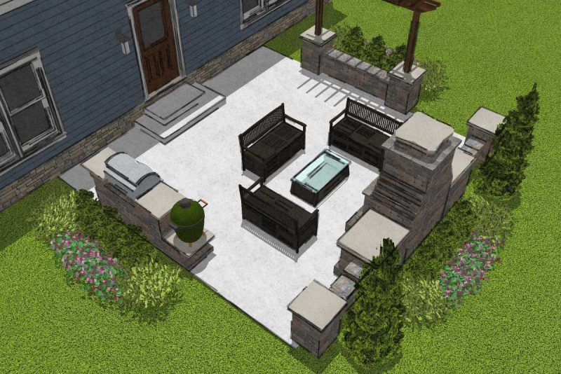 9 Small Patio Designs With Big Impact, Paver Patio Ideas For Small Backyards