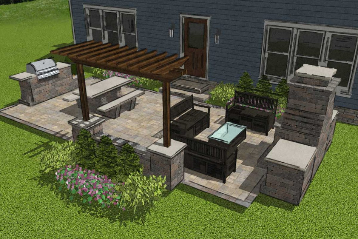 9 Small Patio Designs With Big Impact Romanstone Hardscapes