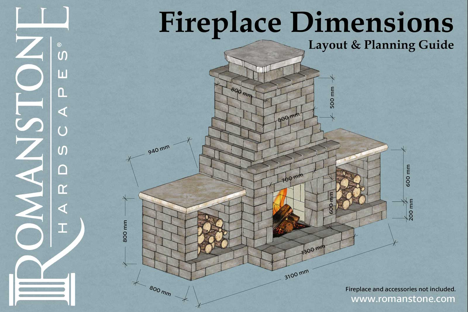 Planning guide with Dimensios