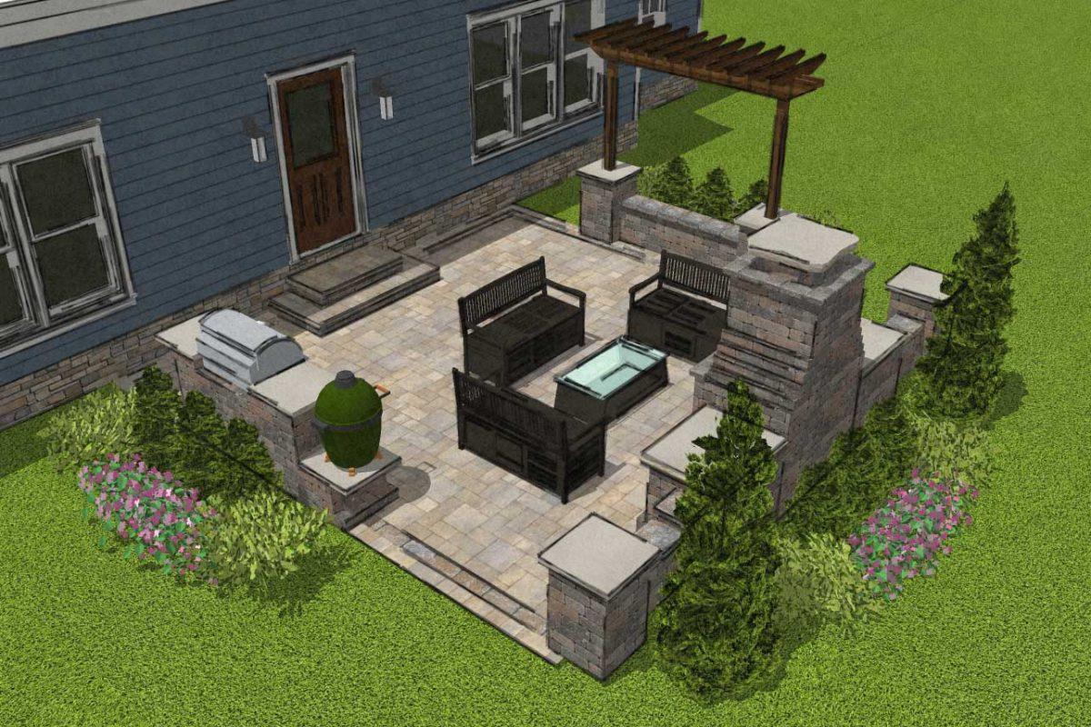 9 Small Patio Designs With Big Impact Romanstone Hardscapes